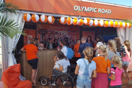 The Hague 2016_Olympic Road desk